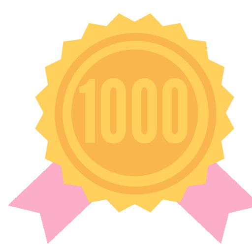 Congratulations! You've earned a badge for earning your first 1,000 Power Points!