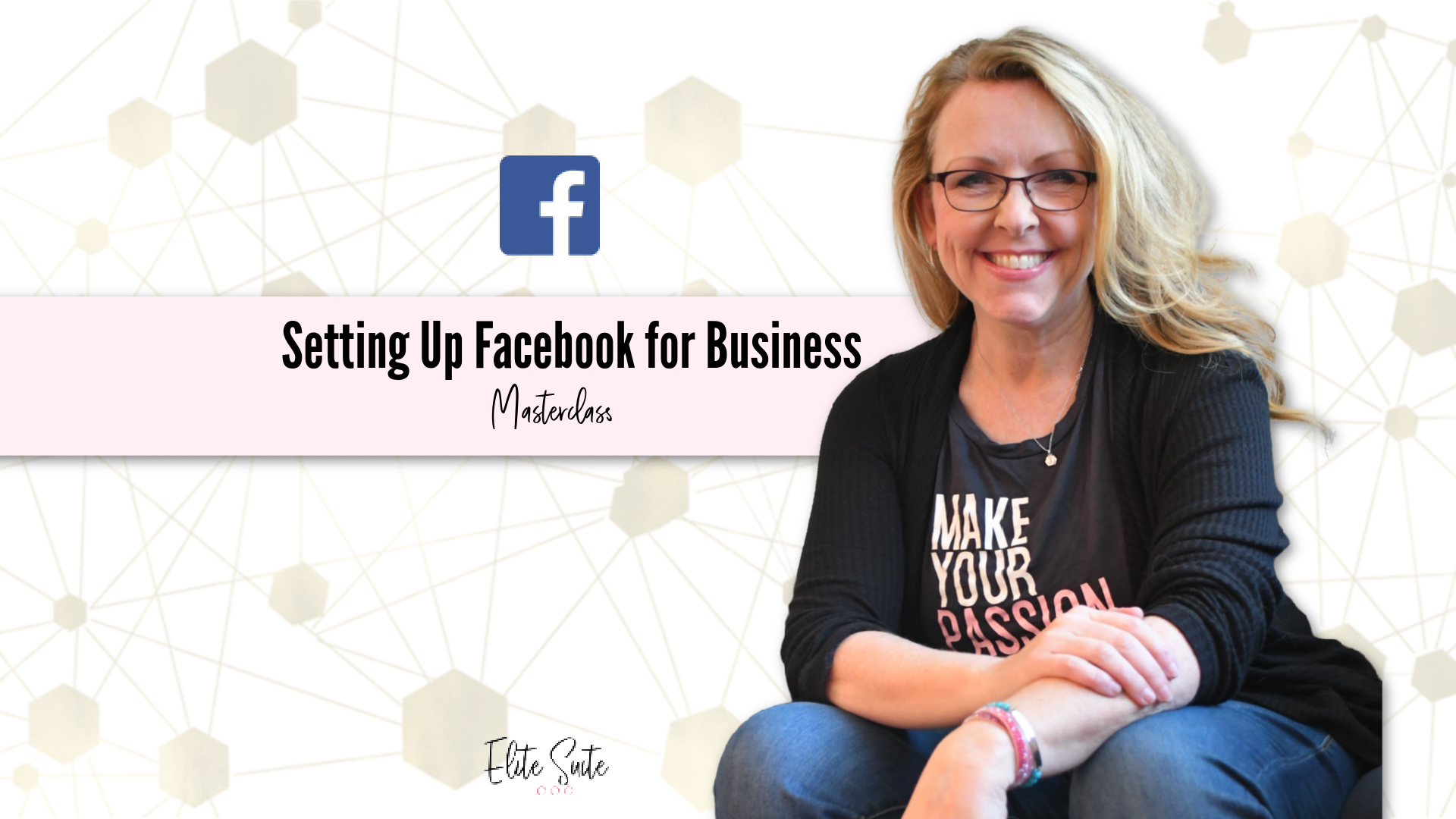 Setting up Facebook for Business masterclass title overlay