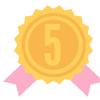 Congratulations! You've earned a badge for completing five masterclasses.