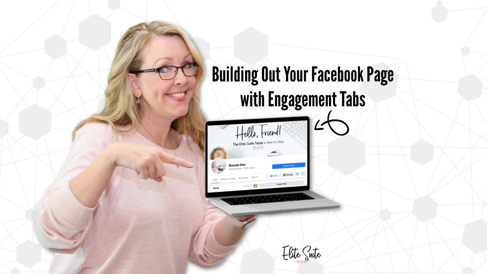 Building Out Your Facebook Page with Engagement Tabs image overlay