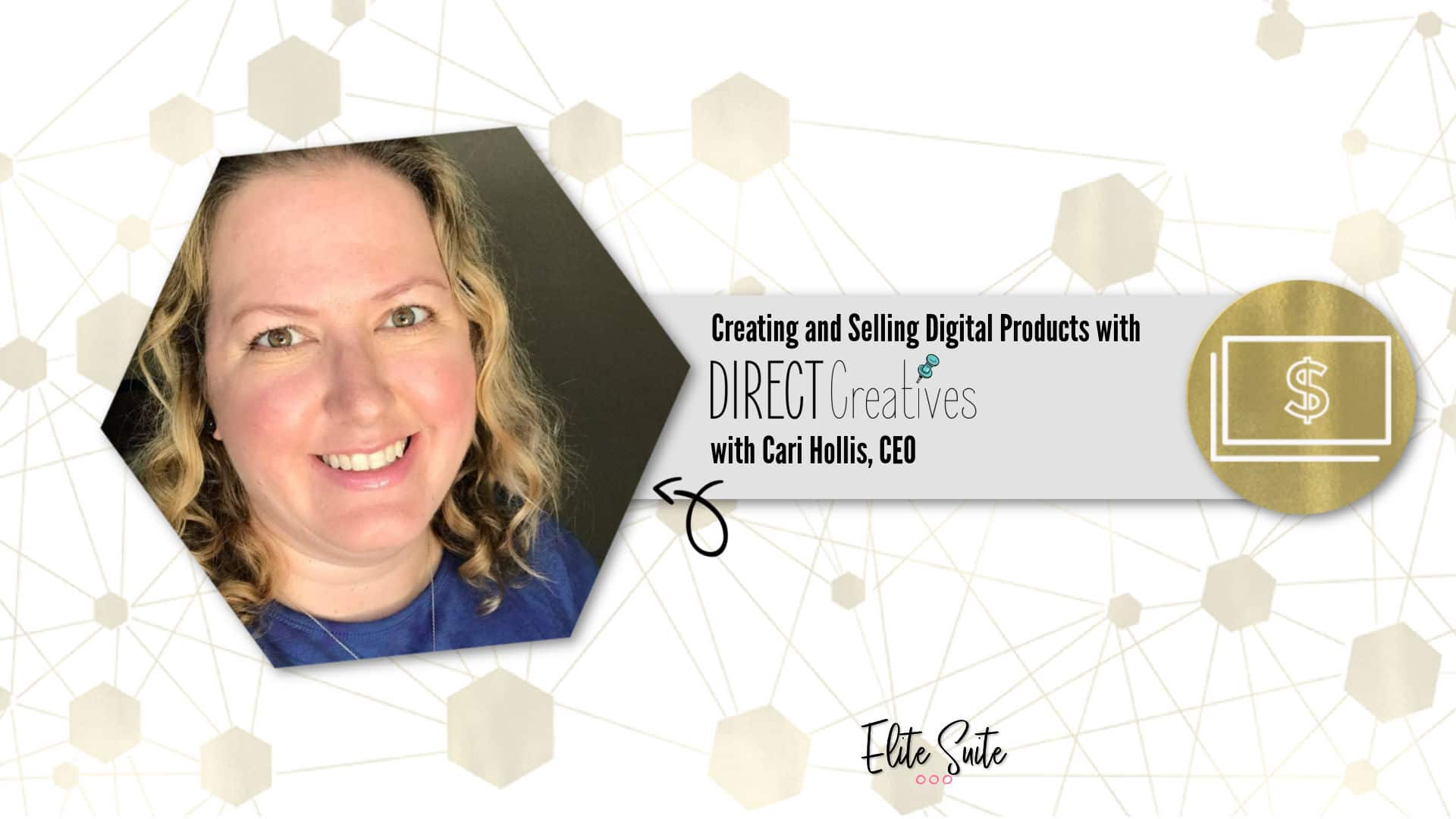 Creating and Selling Digital Products with Direct Creatives masterclass overlay