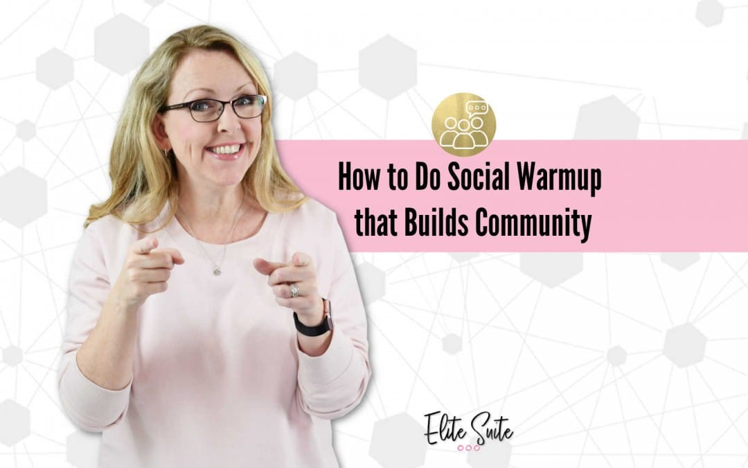 How to Do Social Warmup that Builds Community
