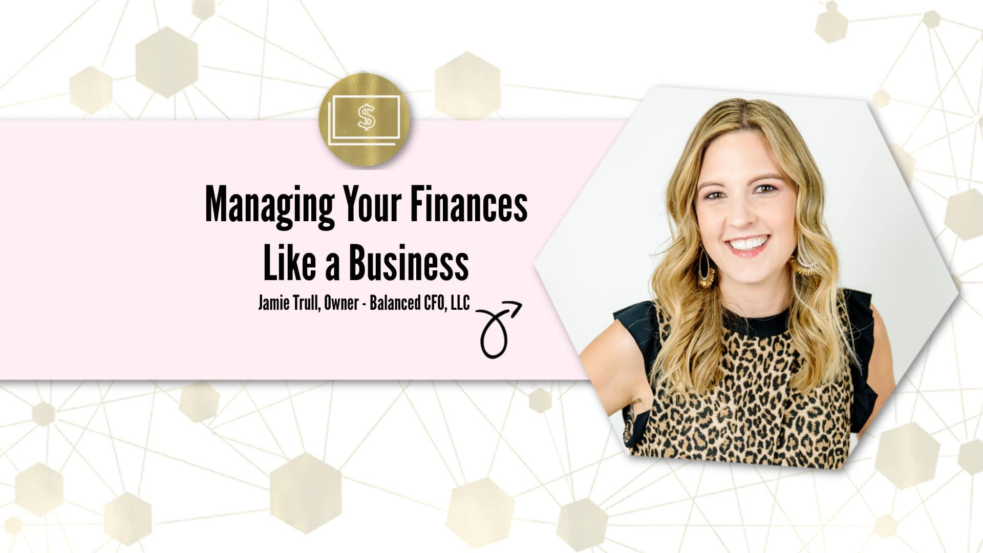 Managing Your Finances Like a Business masterclass overlay