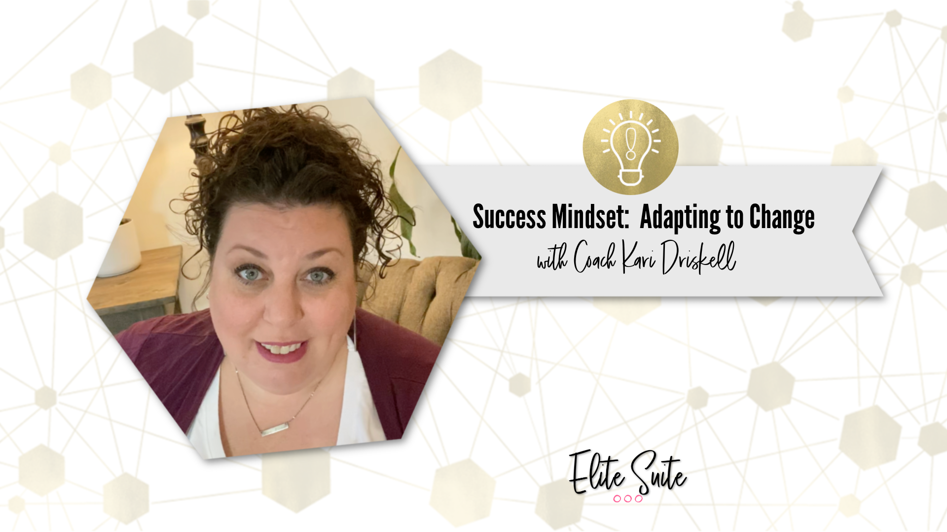 Success Mindset: Adapting to Change - Masterclass title overlay