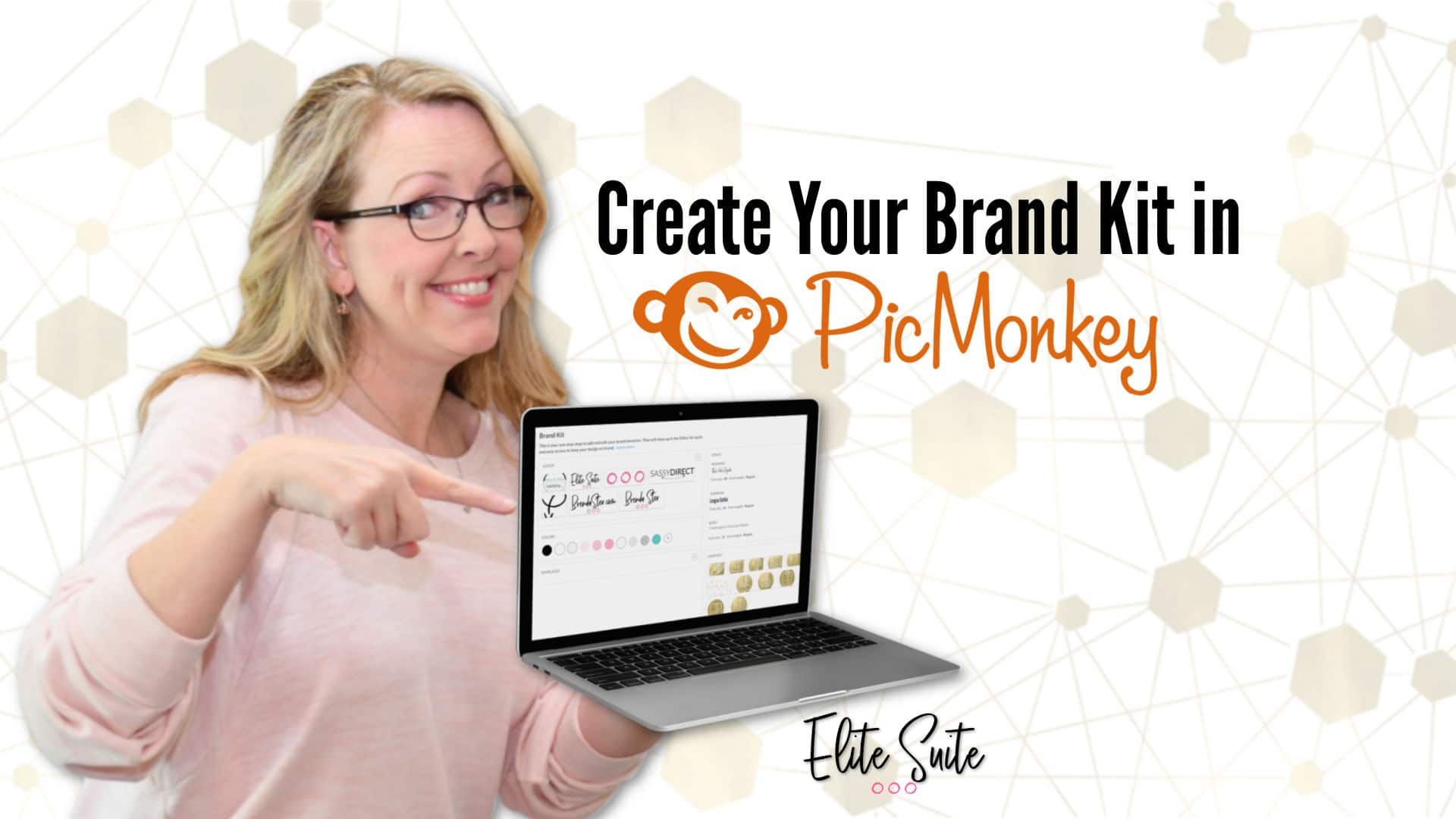 Creating Your Brand Kit in PicMonkey - Masterclass Title overlay