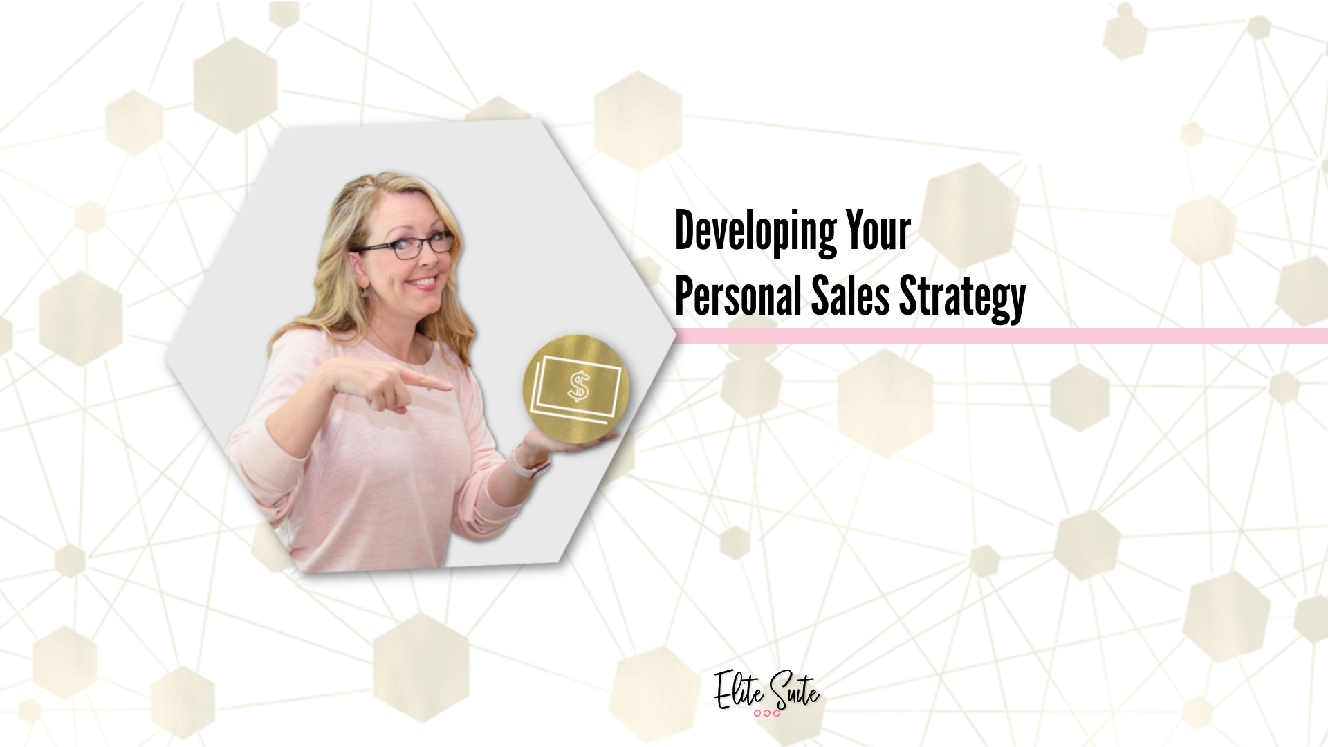 Developing Your Personal Sales Strategy Masterclass title overlay